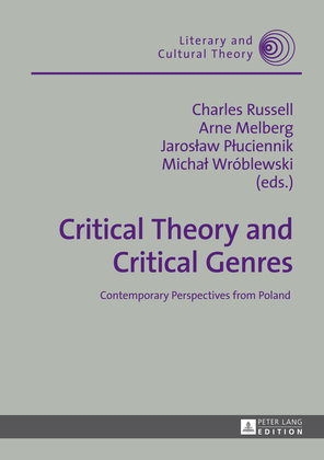 Critical Theory and Critical Genres