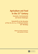 Agriculture and Food in the 21 st  Century
