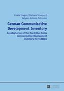 German Communicative Development Inventory