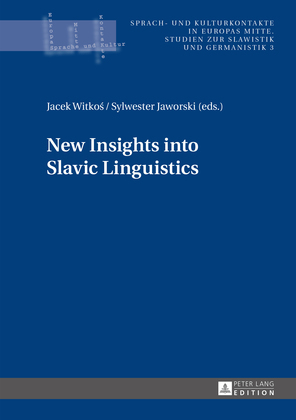 New Insights into Slavic Linguistics