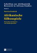 Afrikanische Silbenspiele