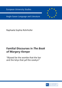 Familial Discourses in «The Book of Margery Kempe»