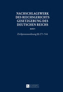 Nachschlagewerk des Reichsgerichts – Gesetzgebung des Deutschen Reichs