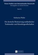 Die deutsche Besteuerung auslaendischer Tonkuenstler und Kuenstlergesellschaften