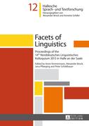 Facets of Linguistics