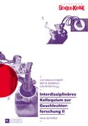 Interdisziplinaeres Kolloquium zur Geschlechterforschung II