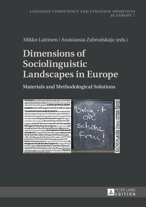 Dimensions of Sociolinguistic Landscapes in Europe