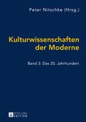 Kulturwissenschaften der Moderne