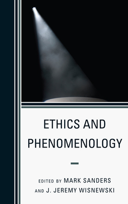 Ethics and Phenomenology