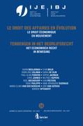 Het economisch recht in beweging / Le droit économique en mouvement