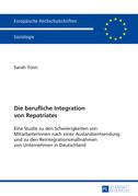 Die berufliche Integration von Repatriates