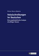 Vokalschreibungen im Deutschen