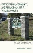 Participation, Community, and Public Policy in a Virginia Suburb