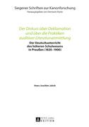 Der Diskurs ueber Deklamation und ueber die Praktiken auditiver Literaturvermittlung