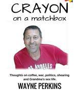 Crayon on a matchbox