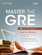 Master the GRE 2013: Part I of V