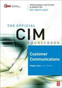 CIM Coursebook 07/08 Customer Communications