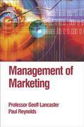 Management of Marketing