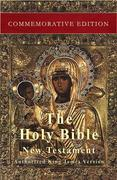 The Holy Bible: New Testament: Commemorative Edition