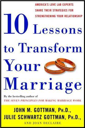 Ten Lessons to Transform Your Marriage: America's Love Lab Experts Share Their Strategies for Strengthening Your Relationship