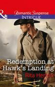 Redemption At Hawk's Landing (Mills & Boon Intrigue) (Badge of Justice, Book 1)