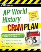 CliffsNotes AP World History Cram Plan