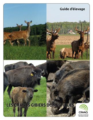 Guide d'élevage - Les grands gibiers domestiques