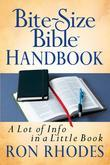 Bite-Size Bible Handbook: A Lot of Info in a Little Book