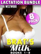 Brat's Milk Series : 8 Pack Lactation Bundle - Books 1 - 8