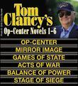 Clancy's Op-Center Novels 1-6