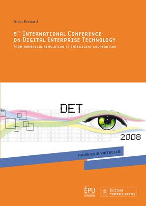 5th International Conference On Digital Enterprise Technology
