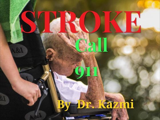 Stroke call 911: Clot buster for stroke