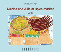 Nicolas and Julie at the spices market