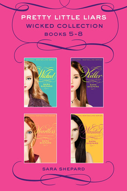 Pretty Little Liars Wicked 4-Book Collection: Books 5-8