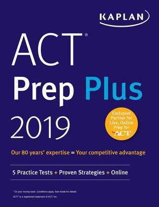 ACT Prep Plus 2019