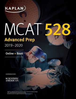 MCAT 528 Advanced Prep 2019-2020