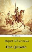 Don Quixote (Best Navigation, Active TOC) (A to Z Classics)