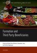 Formation and Third Party Beneficiaries