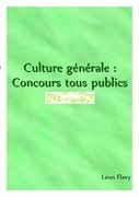 Culture générale   *****