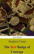 The Red Badge of Courage (Best Navigation, Active TOC) (A to Z Classics)