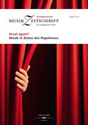 Great again? Musik in Zeiten des Populismus
