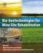 Bio-Geotechnologies for Mine Site Rehabilitation