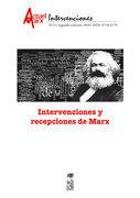 Intervenciones y recepciones de Marx. Actuel Marx 21