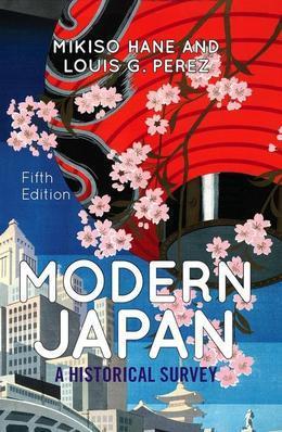 Modern Japan: A Historical Survey