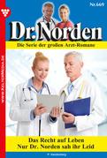 Dr. Norden 669 – Arztroman