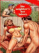 The Neighbor's Hot Labors (Vintage Erotic Novel)