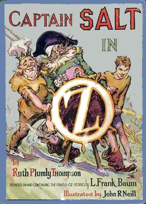 The Illustrated Captain Salt in Oz