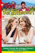 Toni der Hüttenwirt 297 – Heimatroman