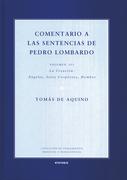 Comentario a las sentencias de Pedro Lombardo II/1