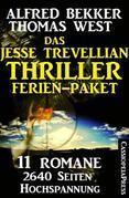 Das Jesse Trevellian Thriller Ferien-Paket: 11 Romane